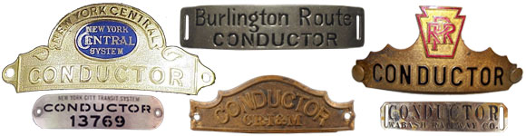 Antique Conductor's Badge