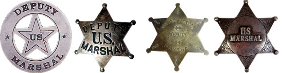 Antique Marshal's Badge
